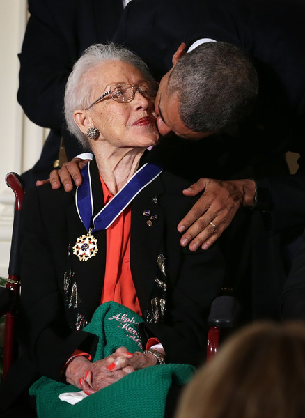 Katherine+G+Johnson+President+Obama+Presents+6K4sUCOPe3ll