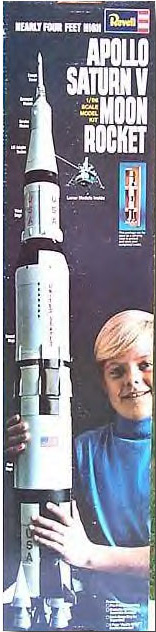 REVELL SATURN V ORIGINAL BOX ART